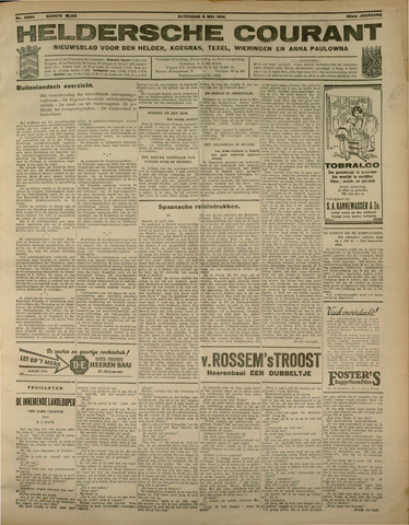 Heldersche Courant 1931-05-09