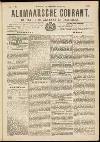 Alkmaarsche Courant 1907-07-11