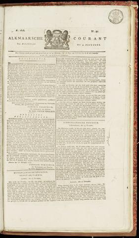 Alkmaarsche Courant 1826-11-20