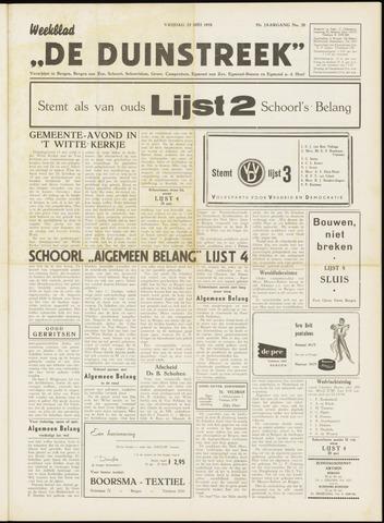 De Duinstreek 1958-05-23