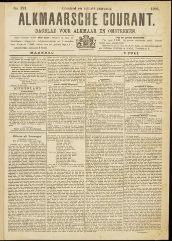 Alkmaarsche Courant 1906-07-02