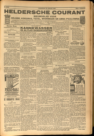 Heldersche Courant 1928-01-19