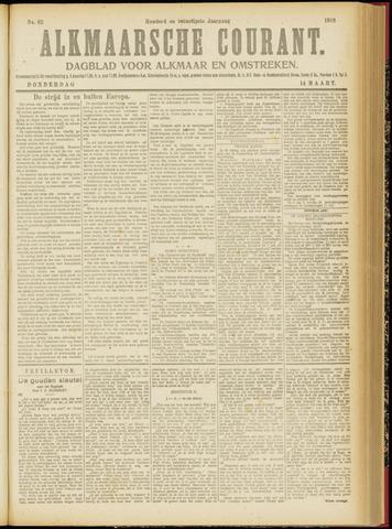Alkmaarsche Courant 1918-03-14