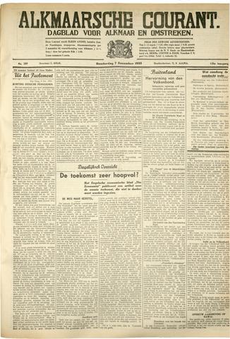 Alkmaarsche Courant 1933-12-07