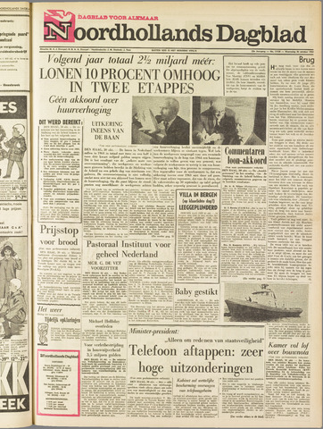 Noordhollands Dagblad : dagblad voor Alkmaar en omgeving 1963-10-30