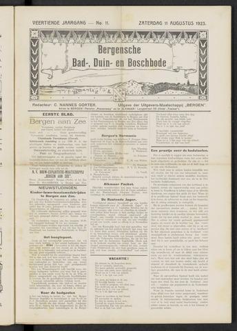 Bergensche bad-, duin- en boschbode 1923-08-11