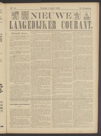 Nieuwe Langedijker Courant 1893-04-09