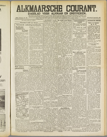 Alkmaarsche Courant 1941-09-24