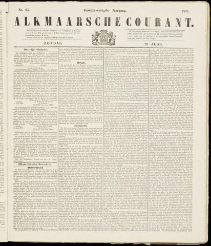 Alkmaarsche Courant 1874-06-21