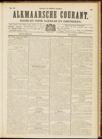 Alkmaarsche Courant 1911-04-26
