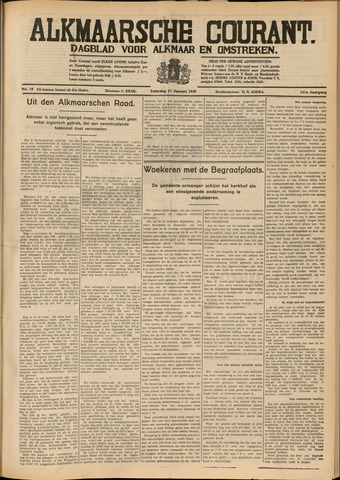 Alkmaarsche Courant 1939-01-21
