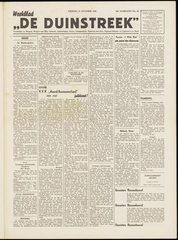 De Duinstreek 1949-10-14