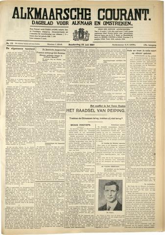 Alkmaarsche Courant 1937-07-22