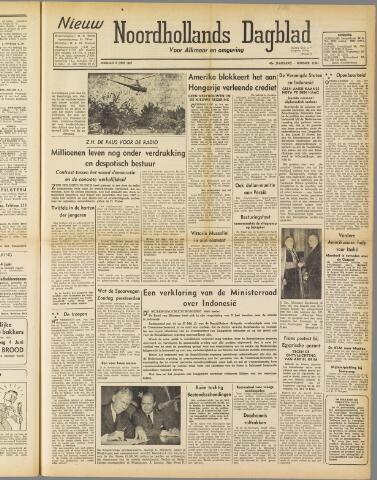 Nieuw Noordhollandsch Dagblad : voor Alkmaar en omgeving 1947-06-09