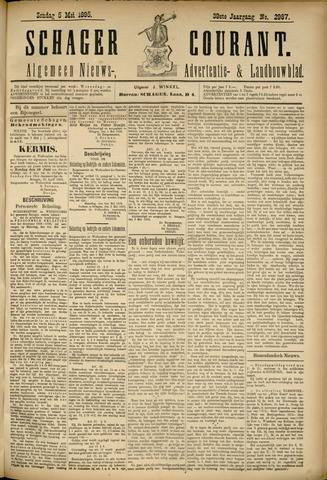 Schager Courant 1895-05-05
