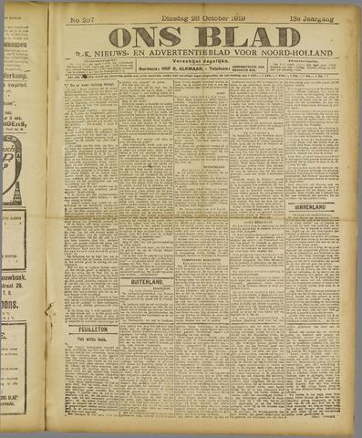 Ons Blad : katholiek nieuwsblad voor N-H 1919-10-28