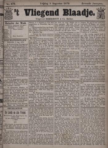 Vliegend blaadje : nieuws- en advertentiebode voor Den Helder 1879-08-08