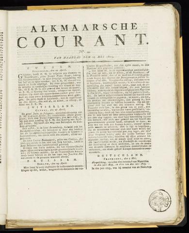 Alkmaarsche Courant 1815-05-15