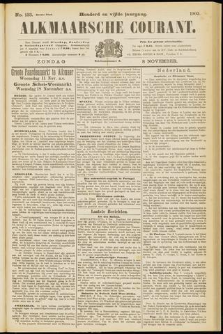 Alkmaarsche Courant 1903-11-08