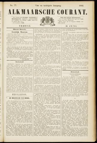 Alkmaarsche Courant 1882-06-30