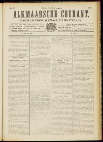 Alkmaarsche Courant 1909-05-17