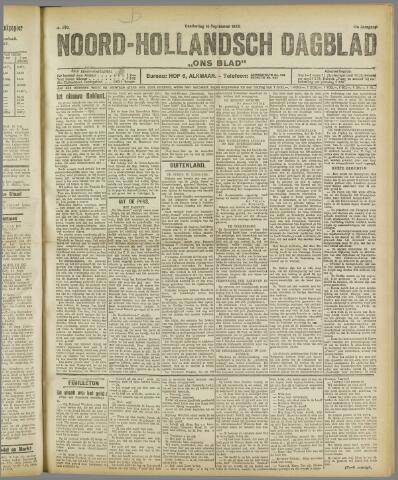 Ons Blad : katholiek nieuwsblad voor N-H 1922-09-14