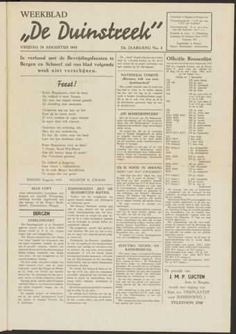 De Duinstreek 1945-08-24
