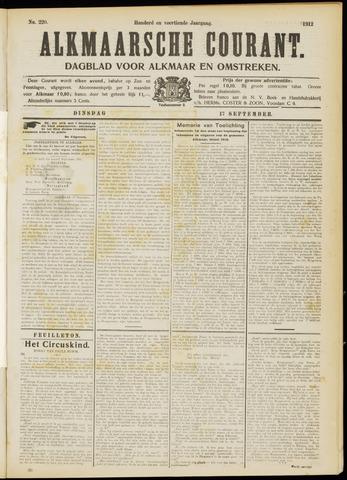 Alkmaarsche Courant 1912-09-17