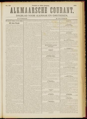 Alkmaarsche Courant 1909-10-30
