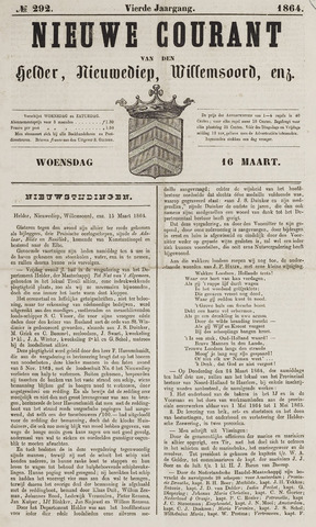Nieuwe Courant van Den Helder 1864-03-16