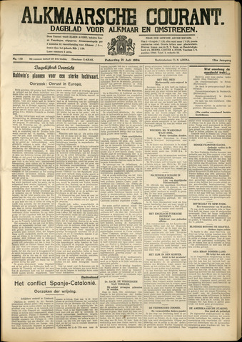 Alkmaarsche Courant 1934-07-21