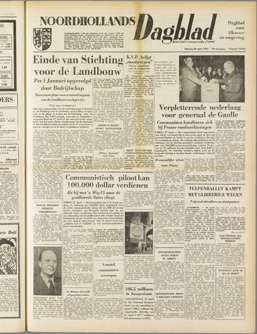 Noordhollands Dagblad : dagblad voor Alkmaar en omgeving 1953-04-28