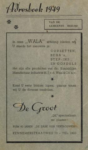 Adresboek van Heiloo 1949-01-01