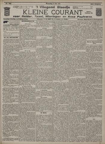 Vliegend blaadje : nieuws- en advertentiebode voor Den Helder 1910-07-06