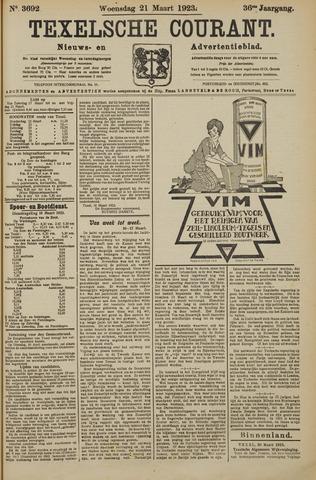 Texelsche Courant 1923-03-21