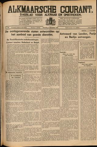 Alkmaarsche Courant 1939-11-13