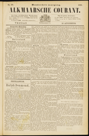 Alkmaarsche Courant 1898-08-12