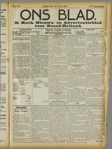 Ons Blad : katholiek nieuwsblad voor N-H 1911-07-15