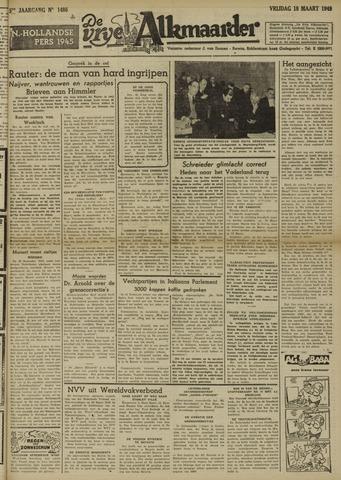 De Vrije Alkmaarder 1949-03-18