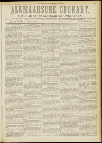 Alkmaarsche Courant 1919-11-13