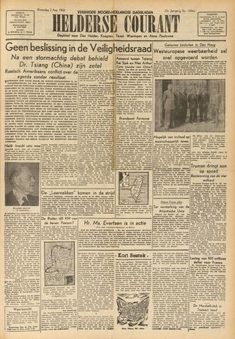 Heldersche Courant 1950-08-02
