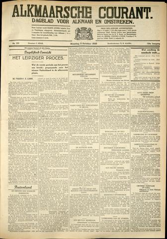 Alkmaarsche Courant 1933-10-03