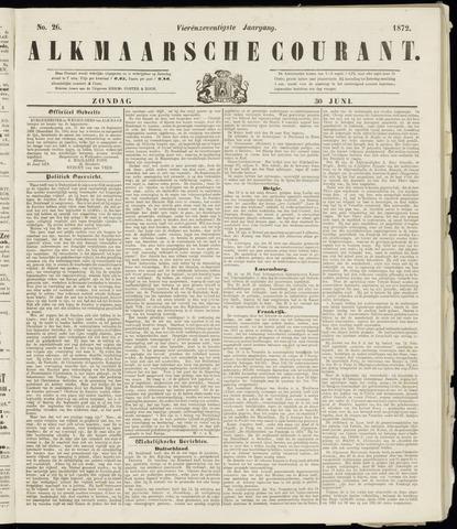 Alkmaarsche Courant 1872-06-30