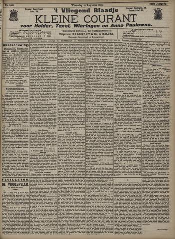 Vliegend blaadje : nieuws- en advertentiebode voor Den Helder 1906-08-15