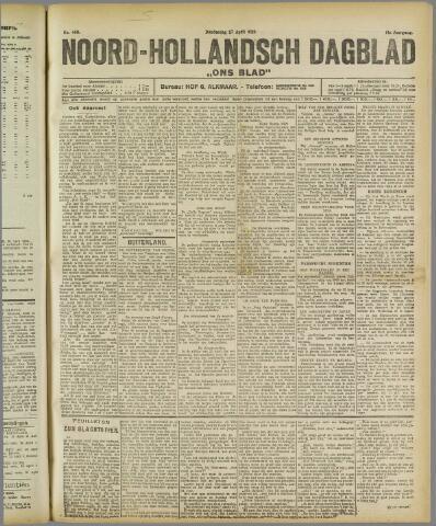 Ons Blad : katholiek nieuwsblad voor N-H 1922-04-27