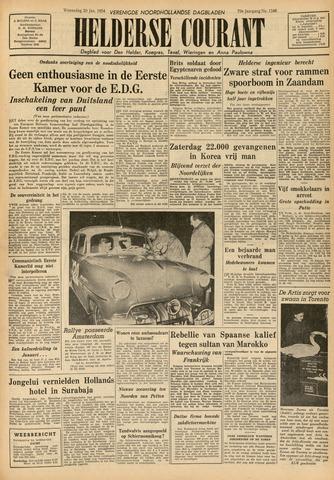 Heldersche Courant 1954-01-20