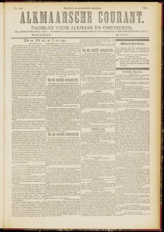 Alkmaarsche Courant 1915-06-30