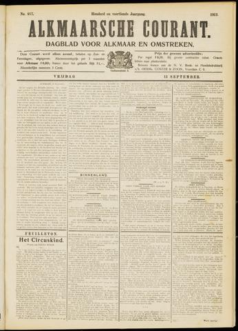 Alkmaarsche Courant 1912-09-13