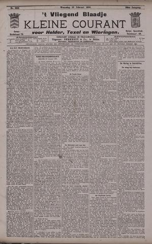 Vliegend blaadje : nieuws- en advertentiebode voor Den Helder 1900-02-28