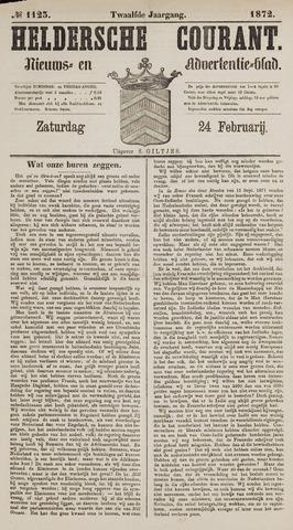 Heldersche Courant 1872-02-24